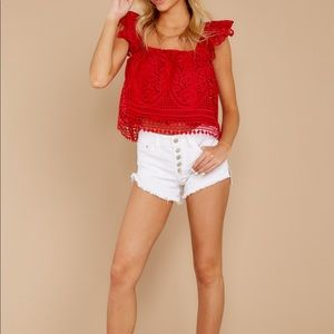 NWT Endless Rose Crop Top- Still listed online